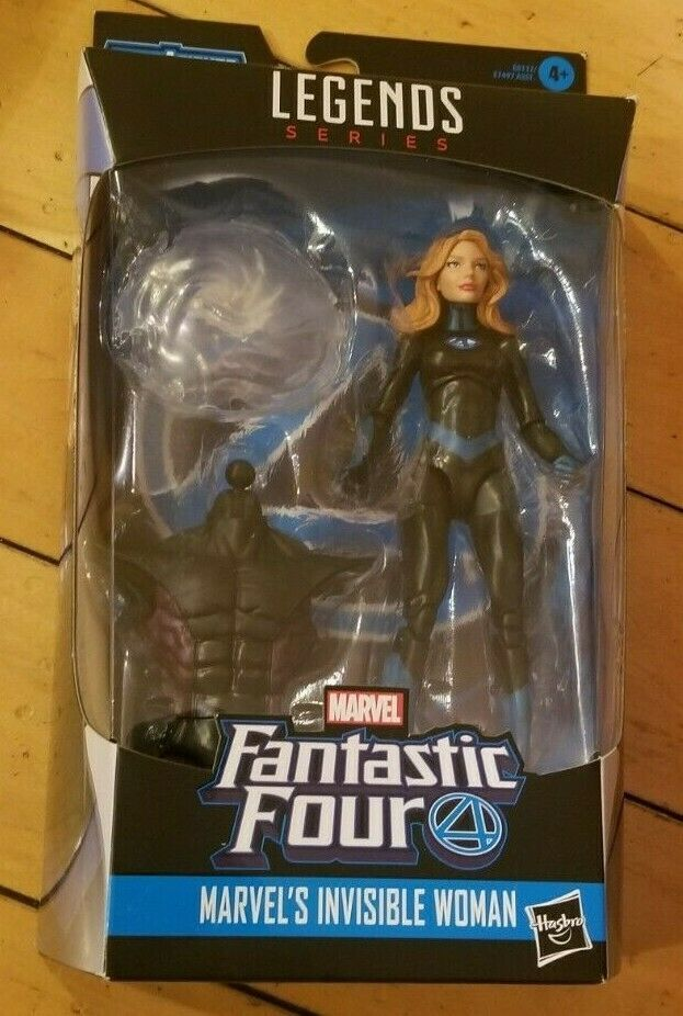 Primary image for Marvel Legends Series- Marvel's Invisible Woman - 6 In -New in pkg. Sm. Pkg tear