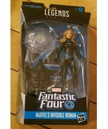 Marvel Legends Series- Marvel's Invisible Woman - 6 In -New in pkg. Sm. ... - $19.59
