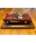 1957 Chevy Corvette Roadster 1:24 Scale Diecast Metal Model Car - $27.00