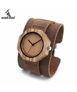 BOBO BIRD® Octagon Wood Watch For Women Bamboo Dial Ladies Quartz - $33.13+