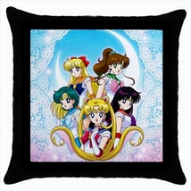 Throw pillow case cover sailor moon - $19.50
