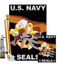 U.S. Navy Seal - Applique Decorative Flags Kit FK108051-P2 - $109.97