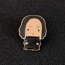 Harry Potter Lapel Pin: Chibi Severus Snape - $14.90