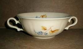 ROSENTHAL Cream Soup Floral Bahnhof Selb Germany CHIPPENDALE Vintage CUP... - $14.24