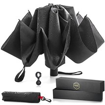 His Private Items Upside Down Reversible Umbrella - Automatic Open and C... - $21.62