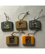Nintendo 64 Mini Cartridge Christmas Tree Ornaments Zelda Ocarina Of Tim... - $33.65