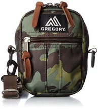 GREGORY Quick Pocket S Shoulder Bag DEEP FOREST CAMO Green Camoflage Out... - $1.212,03 MXN