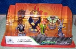 Disney Store Zootopia Figurine Play Set New - $19.68