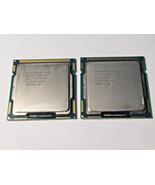 Lot of 2 Intel Core i5-650 SLBTJ 3.20GHz/4M/09A Dual-Core Socket H CPU P... - $36.62