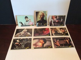 Topps Paramount Studios 1976 9 Total Star Trek Trading Cards Lot F - $27.00