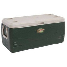 Coleman Xtreme 150 qt Cooler Beverage Holders Green Chest Storage Portab... - €67,70 EUR