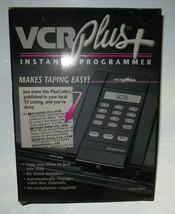 Vintage Gemstar VCR PLUS + Instant Programmer Remote Control New In Box Vintage  - $14.84