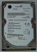 "40GB IDE 44pin 2.5"" 9.5mm Hard Drive Seagate ST9408114A Tested Free USA Ship"