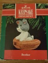 HALLMARK KEEPSAKE ORNAMENT BROTHER NIB - $11.30