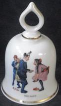 First Dance, Norman Rockwell - September 1979 Danbury Mint  Bell COA - $26.72