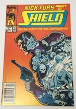 Nick Fury Agent of Shield Comic Book Marvel Vol. 2 No. 6 Mid-December 1989 - $12.14
