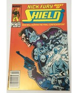 Nick Fury Agent of Shield Comic Book Marvel Vol. 2 No. 6 Mid-December 1989 - $12.14