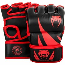 Venum Challenger MMA Gloves - Without Thumb Black/Red Large/X-Large New - $35.49