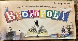 BOOKOPOLY Monopoly Ed Books & Novel Board Game Late for the Sky - $34.64
