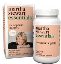 Martha Stewart Essentials Menopause Support Supplement, 60 Vegetarian Ca... - $29.65