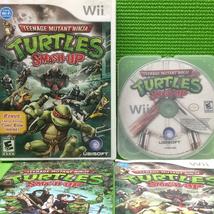 Teenage Mutant Ninja Turtles: Smash-Up - Nintendo Wii | Disc Plus - $8.00
