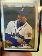 1992 Upper Deck Seattle Mariners Baseball Card #335 Ken Griffey Sr. - $3.96