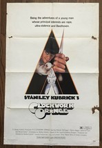 Stanley Kubrick's a Arancione (1971) US One-Sheet Si Muove Versione - $112.51