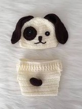 Handmade Baby Hat & Knit Diaper Cover Doglover - $49.56