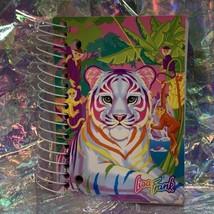 Vintage Lisa Frank Rainbow White Tiger Big Little Notebook 200 Sheets Unused