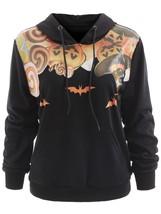 Pumpkin Lantern Halloween Hoodie(BLACK M) - $18.39