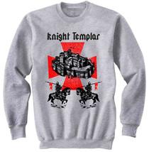 KNIGHT TEMPLAR 20 - NEW COTTON GREY SWEATSHIRT - $31.88