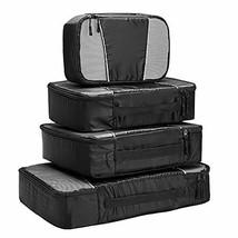 Travel Packing Cubes - 4 Set Lightweight Travel Luggage Packing Organizers - $20.65
