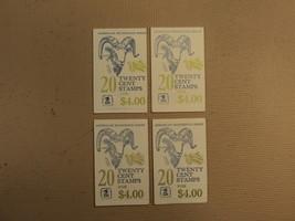 USPS Scott 1949a 20c 1981 American Bighorned Sheep 4 Books 76 Stamps 7 P... - $42.22