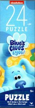 Blue`s Clues & you! - 24 Piece Tower Jigsaw Puzzle - $9.89