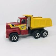 Vintage Nylint Sand Gravel Dump Truck Construction Metal Body Pressed Steel - $19.75