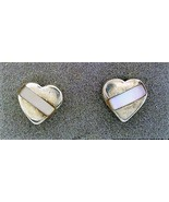 Mother Of Pearl Sterling Silver Stud Earrings 1 - £6.12 GBP