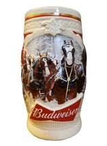 """2015 Budweiser Holiday Stein- """"First Snow of the Season"""" - $20.00"""