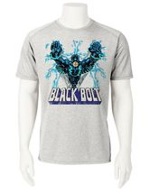 Black Bolt Dri Fit graphic T-shirt moisture wicking SPF retro comic sport tee image 2