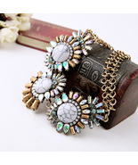 Personalized Fashion Tide Chunky Chain Necklace Maxi Best Friend Pendants - $24.16