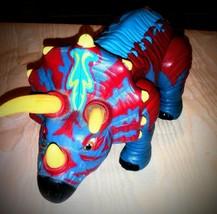 "IMAGINEXT Trample the Triceratops Dinosaur Mattel 2006 Walks & Roars 12""... - $14.84"