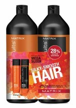Matrix Total Results  Mega Sleek Shampoo and Conditioner Liter Duo - $40.00