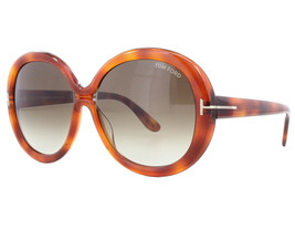 NEW Tom Ford FT 0388 56B TF Gisella Tortoise / Brown Sunglasses (NO CASE) - $116.97