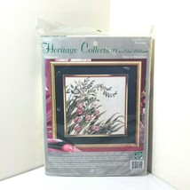 Elsa Williams Windswept Heritage Collection Pink Tulips Needlepoint Kit 06001 - $54.45