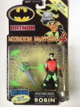 batman mission masters 4 night fury robin/glows in the dark - $11.63