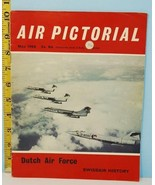1968 May Vol. 30 #5 Air Pictorial Dutch Air Force Swissair History Magazine - $5.93