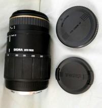 Camera Lens Sigma 70-300mm f/4-5.6 Apo Macro Super Auto Focus Untestd PARTS/REPR - $51.99