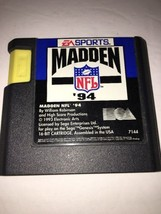 Madden Nfl '94 (Sega Genesis,1993) Game only-TESTED-RARE VINTAGE-SHIPS In 24 Hrs - $12.49