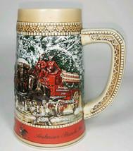 "Budweiser Anheuser Busch 1987 ""C"" Series Stein, Free Shipping! - $24.99"