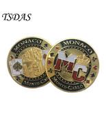 Monaco Monte Carlo Lucky Gambling Commemorative Coins Monaco 40*3 mm Coin - $5.50