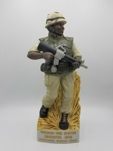 Vietnam War Statue PA American Legion USMC Decanter Mt Hope Winery 1986 - $118.69